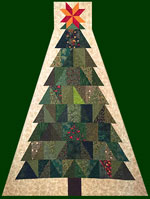 Gandiegow Christmas Tree Quilt
